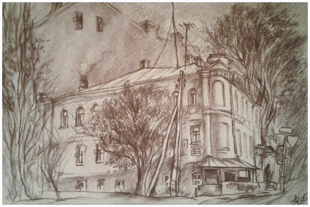 Ведышев А.А. Старый дом на Руставели-660