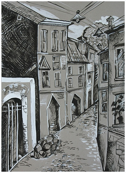 Голуб П. Старый дом-660