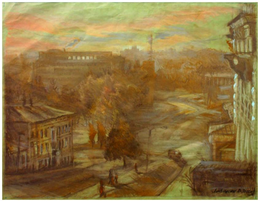Литвиненко«Вид вниз з Бурсацького схилу-847-660»
